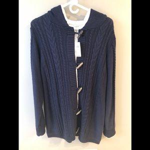 LL Bean sweater coat